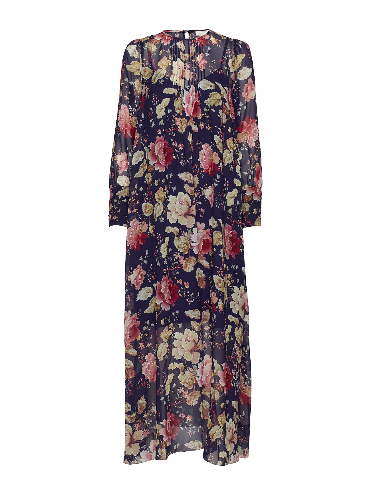 Notes du Nord Maggie Silk Maxi Dress - AMAZING FLOWER