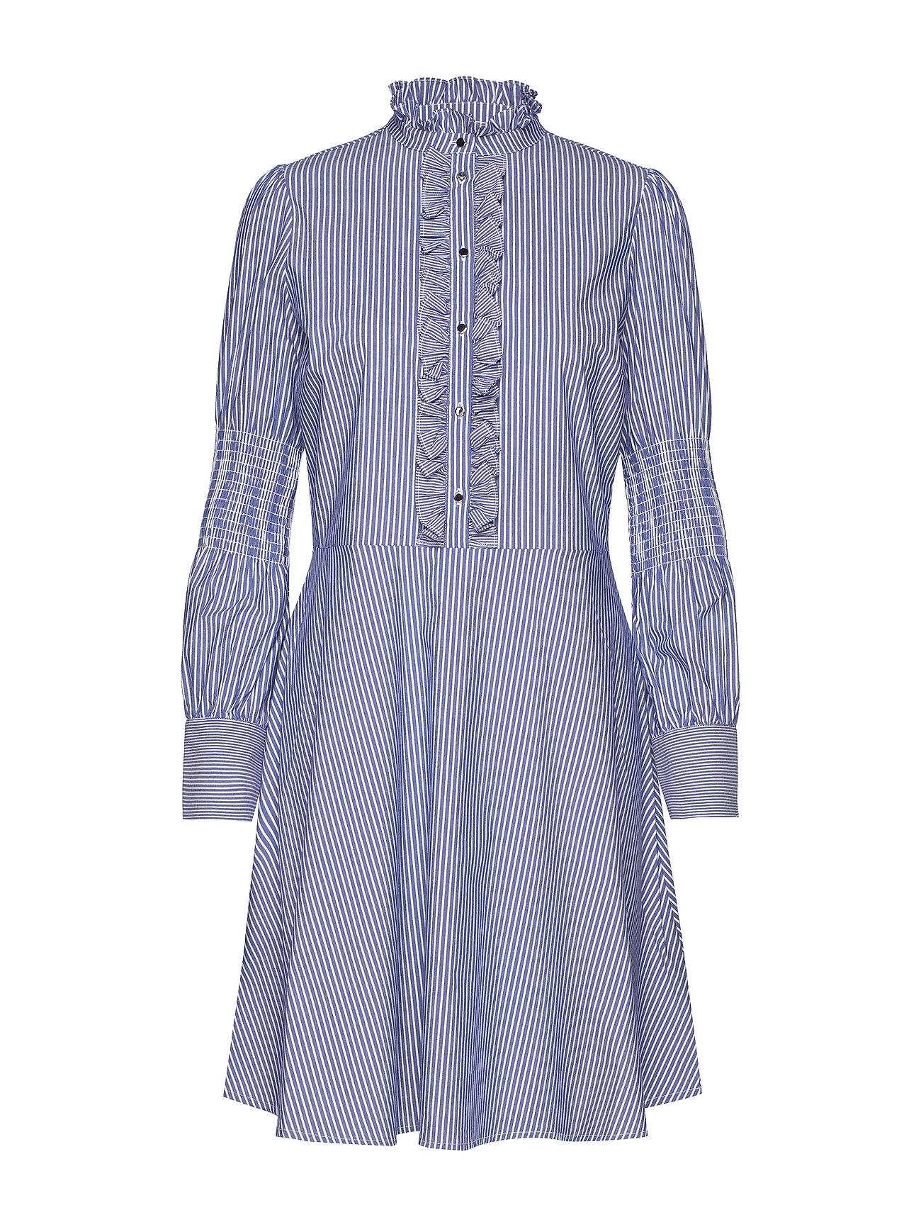 Notes du Nord Milla Stripe Dress - BLUE STRIPE