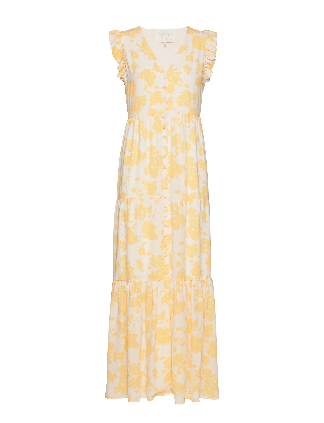 Notes du Nord Orchid Recycled Maxi Dress P - LEMON FLOWER