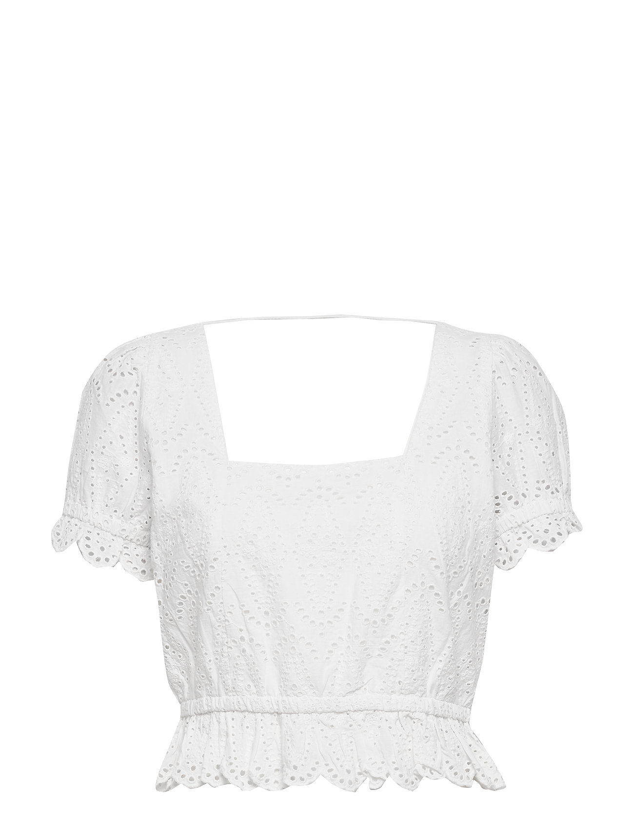 Image of Omia Top Crop Tops Hvid Notes Du Nord (3406249269)