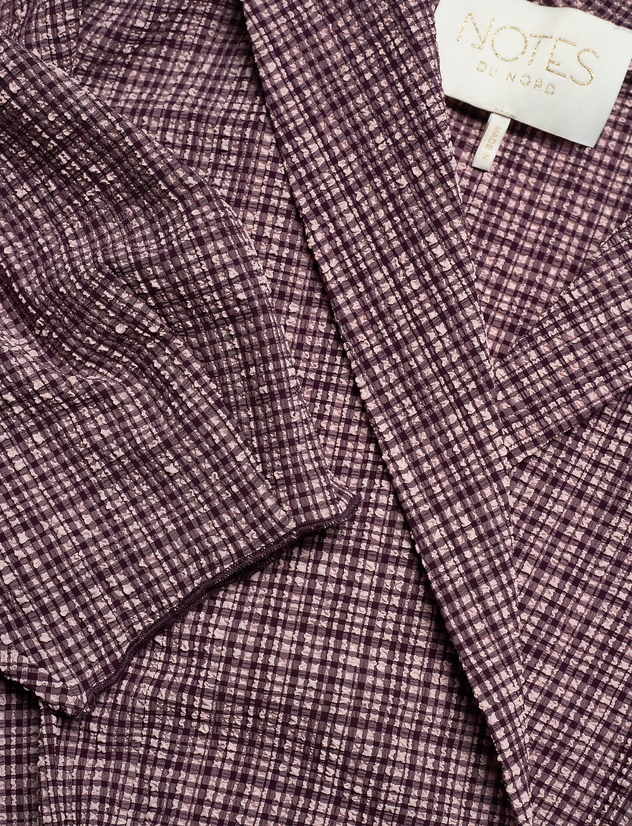Pam Playsuit (Rose Check) (140 €) - Notes du Nord ajcx6