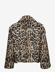 Notes du Nord - Ibi Faux Fur Jacket - faux fur - leopard - 1