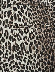 Notes du Nord - Lydia Leopard Pants - leveälahkeiset housut - leopard - 4