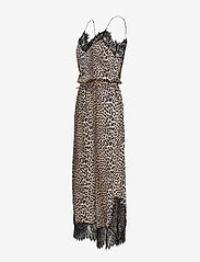 Notes du Nord - Lulu Silk Jumpsuit P - haalarit - leopard - 2