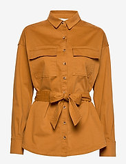 Notes du Nord - Nancy Shirt - overshirts - cognac - 0