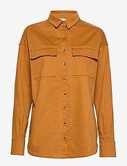 Notes du Nord - Nancy Shirt - overshirts - cognac - 4