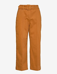 Notes du Nord - Nancy Pants - vida byxor - cognac - 0