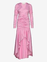 Notes du Nord - Oister Dress - midiklänningar - soft pink - 0