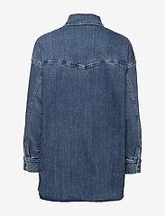 Notes du Nord - Phoenix Denim Shirt - jeansskjortor - blue wash - 1