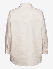 Notes du Nord - Phoenix Denim Shirt Cream - overshirts - cream - 1