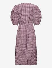 Notes du Nord - Pam Dress - midiklänningar - rose check - 1