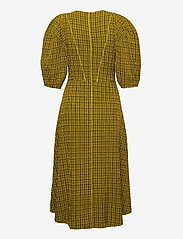 Notes du Nord - Pam Dress - midi kjoler - yellow check - 1