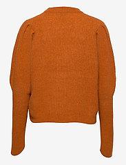 Notes du Nord - Rhonda Blouse - tröjor - burnt orange - 1
