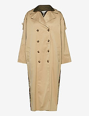 Notes du Nord - Ricci Coat - trenchcoats - nude - 0