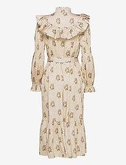Notes du Nord - Rina Loose Dress - midiklänningar - flower dot - 1