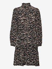 Notes du Nord - Rosie Zebra Short Dress - vardagsklänningar - zebra - 0