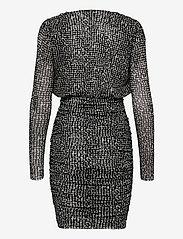 Notes du Nord - Samia Short Dress - fodralklänningar - graphic dot - 1