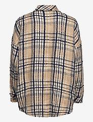 Notes du Nord - Soul Shirt - overshirts - navy check - 1