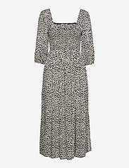 Notes du Nord - Viola Dress - sommerkjoler - leopard - 0