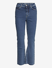 Notes du Nord - Travis Cropped Jeans - boot cut jeans - blue wash - 0