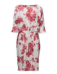 Ashlee Dress - PINK PEONY