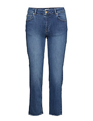 Hunter Straight Jeans Raka Jeans Blå NOTES DU NORD