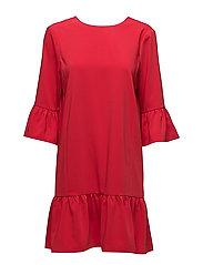 Ashlee Short Dress - STRAWBERRY