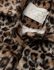 Notes du Nord - Ibi Faux Fur Jacket - faux fur - leopard - 2