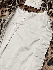 Notes du Nord - Ibi Faux Fur Jacket - faux fur - leopard - 4