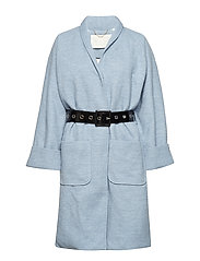 Irena Coat - BLUE HAZEL