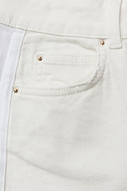 Notes du Nord - Iman Cropped Jeans - flared jeans - ivory - 2