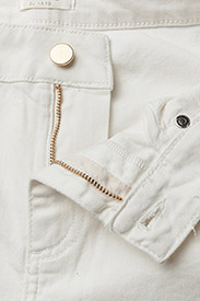 Notes du Nord - Iman Cropped Jeans - flared jeans - ivory - 3