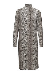 Dallas Dress - LEOPARD
