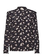 Jenna Flower Shirt - PETITE FLOWER