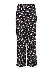 Jenna Flower Pants - PETITE FLOWER