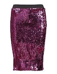 Janet Sequins Skirt - LAVENDER