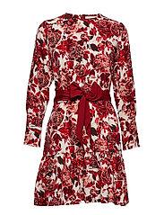 Ashlee Short Dress P - WILD ROSES