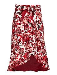 Ashlee Skirt P - WILD ROSES