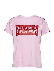 Joy Print T-shirt - LAVENDER