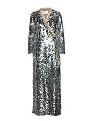Jewel Maxi Dress - SILVER