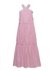 Kyle Dress - PINK STRIPE
