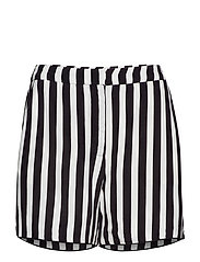 Kenzie Shorts - NOIR STRIPE