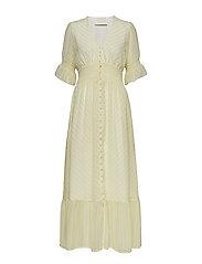 Kennedy Maxi Dress - LEMON STRIPE