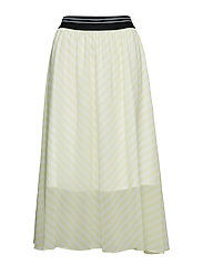 Kennedy Skirt - LEMON STRIPE