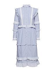 Kimberly Dress - BLUE STRIPE