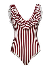 Kali Swimsuit - RUBY STRIPE