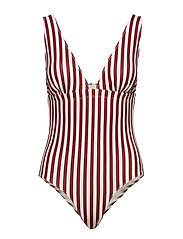 Kaisa Swimsuit - RUBY STRIPE