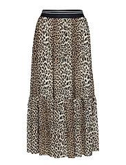 Libby Skirt - LEOPARD