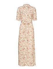 Lydia Flower Maxi Dress - ROMANTIC FLOWER