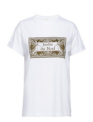 Luca T-shirt - WHITE